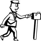 brevbärare Royaltyfria Bilder