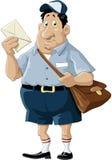 brevbärare Arkivbilder