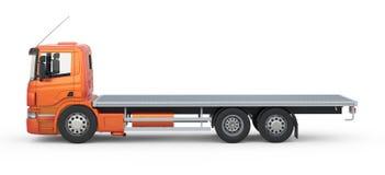 Breve camion Fotografie Stock Libere da Diritti