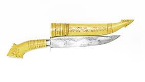 Breve coltello tradizionale Fotografia Stock Libera da Diritti