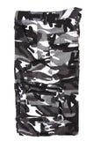 Breve militare del cammuffamento in bianco e nero astratto Fotografia Stock Libera da Diritti