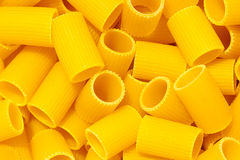 Breve primo piano italiano della pasta Fotografie Stock