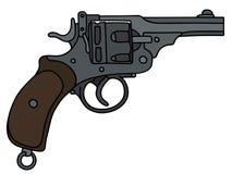 Breve revolver classico Illustrazione di Stock