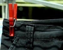 Breve sull'essiccatore di vestiti rotativo Fotografie Stock