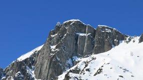Breventpiek, Chamonix, Frankrijk Stock Foto