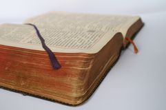 Breviary. Priest book Stock Photo