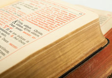 Breviary Royalty Free Stock Photography