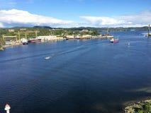 Brevik,挪威 库存图片