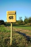 Brevlåda 48 Royaltyfri Foto