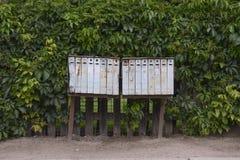 brevlåda Royaltyfri Fotografi