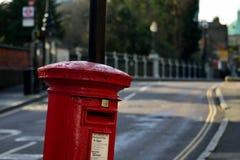 Brevlåda i London Fotografering för Bildbyråer