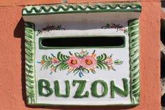 Brevlåda i Spanien/Buzon Royaltyfri Foto