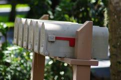 brevlådor arkivbilder