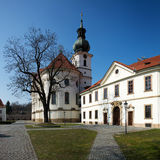 Brevnov Kloster in Prag Lizenzfreie Stockbilder