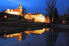 Brevnov monastery Royalty Free Stock Photography