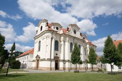 Brevnov Monastery, Prague, Czech Republic Royalty Free Stock Photography