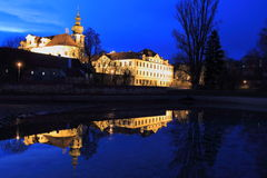 Brevnov at night Stock Photo