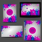 Brevpappermalldesign Affärsstil och identitet Dokumentation för affär den företags identiteten mer min portfölj ställer in mallen Royaltyfria Bilder