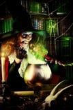Brew ведьмы Стоковая Фотография