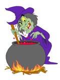 Brew ведьм Иллюстрация вектора