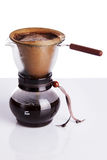Brew coffee in chemex Royalty Free Stock Image