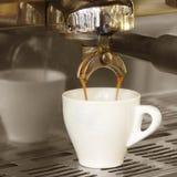 Brew de café express Images libres de droits