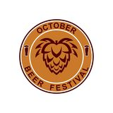 Brew Fest-October. Can be used for Brew Festival Logo vector illustration