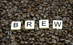 Brew game pieces Stock Photos