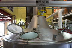 Brew Kettle Royalty Free Stock Photo