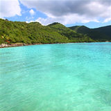 Brewers Bay of Tortola Stock Image