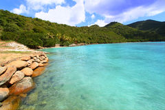 Brewers Bay of Tortola. A beautiful sunny day at Brewers Bay on Tortola - BVI stock photos