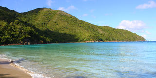 Brewers Bay of Tortola Stock Photo