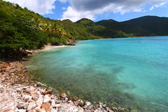 Brewers Bay of Tortola Stock Photography