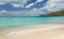 Brewers Beach scene St Thomas USVI Stock Photography