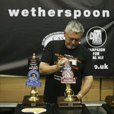 Brewers of The Great British Beer Festival Stock Photo