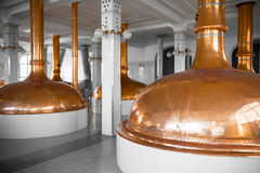 A brewery building interior Royalty Free Stock Image