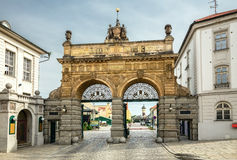 Brewery Gate,Pilsen Stock Images