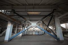 A brewery grain warehouse Stock Photos