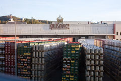 Brewery Krusovice Royalty Free Stock Photography