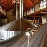Brewery mash tuns Stock Photos