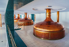 Brewhouse in Pilsen Royalty Free Stock Photo