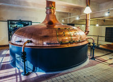 Brewhouse in Pilsen Royalty Free Stock Image
