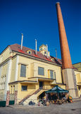 Brewhouse in Pilsen Royalty Free Stock Photography