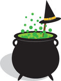 Brewing Cauldron Royalty Free Stock Photo