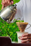 Brewing coffee Stock Photos