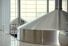 Brewing production -mash vats Royalty Free Stock Photos