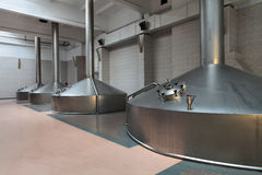 Mash vats Stock Photos