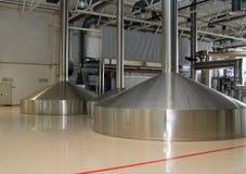Brewing production - mash vats Royalty Free Stock Photos