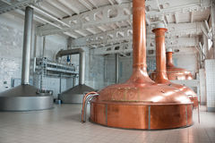 Brewing production Royalty Free Stock Images