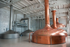 Brewing production Stock Photography